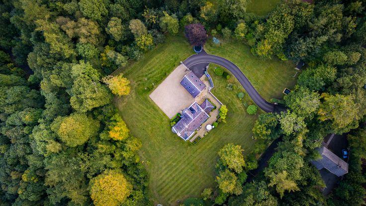 Maxwelton House, Sundrum, Ayr #whywefly #aerialpixls #djiinspire1