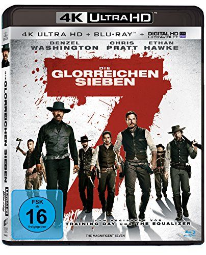 Die glorreichen Sieben - Ultra HD Blu-ray [4k + Blu-ray Disc]