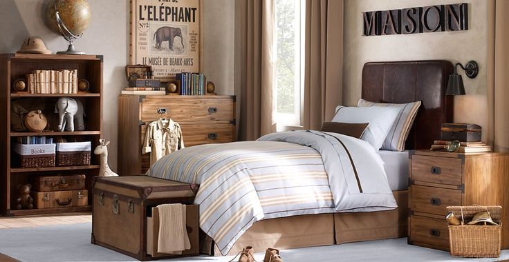Little Inspirations: Boys Rooms - Khaki color
