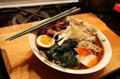 food&crafts: Tonkotsu Ramen - Ricetta Ramen di maiale