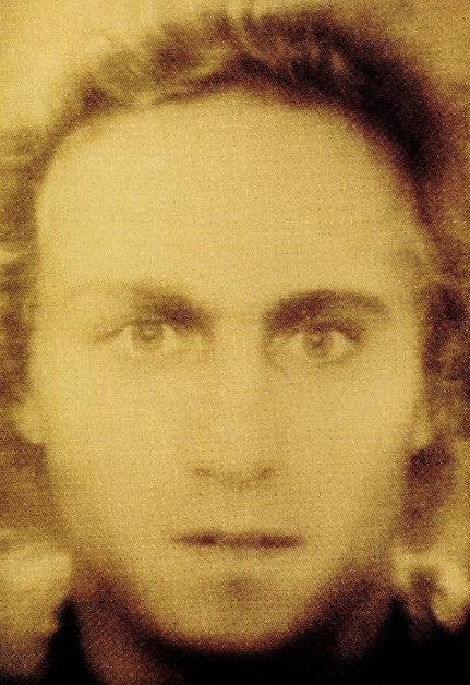 Mozart facial reconstruction using several portraits