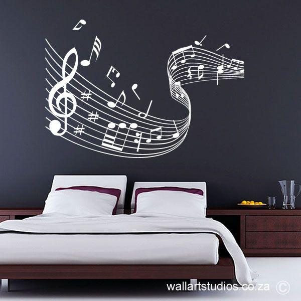 Music Notes Swirl (WAM9)