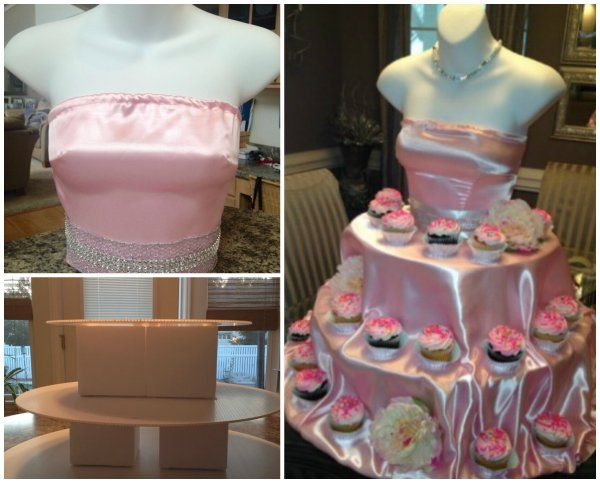DIY Elegant Couture Cupcake Stand