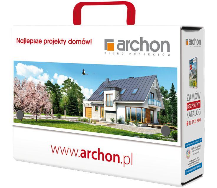 Teczka na dokumenty o wartości 25 zł z utwardzanego kartonu pokrytego folią. Kupując projekt domu otrzymasz ją gratis!