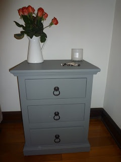 Beautifully restored 'French style' bedside table