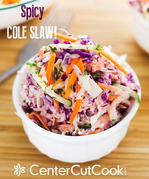 Spicy cole slaw. This is the best cole slaw I've ever had!!!