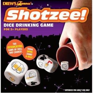 Amazon.com: Shotzee Dice 13pc Drinking Game: Toys & Games