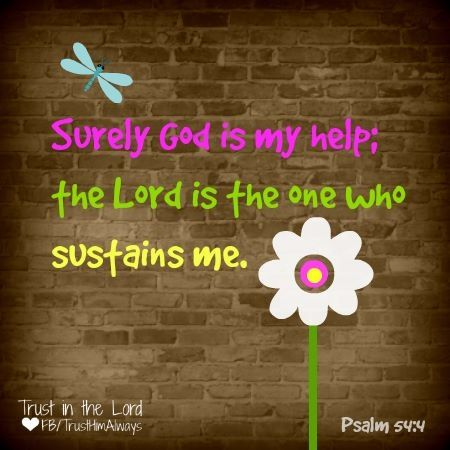 Image result for Psalm 54:4