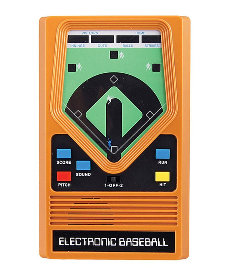 Take a look at this Electronic Baseball today!