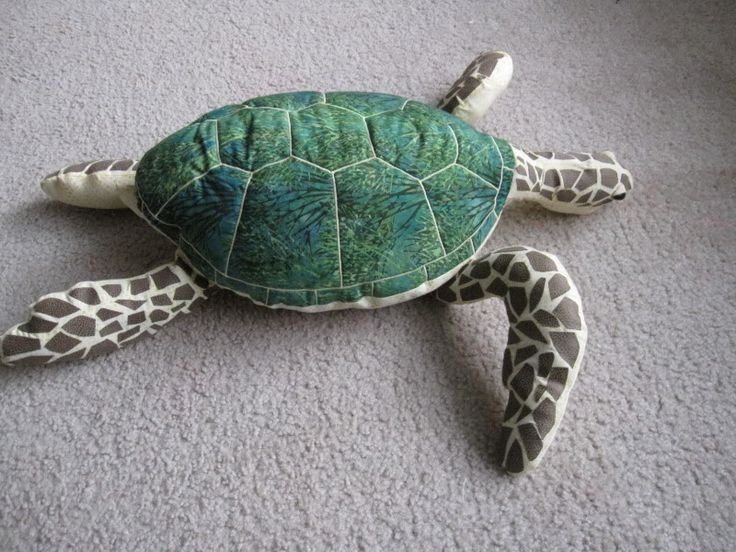 Sea Turtle Sewing Pattern - http://pinterest.com/allsewingpins