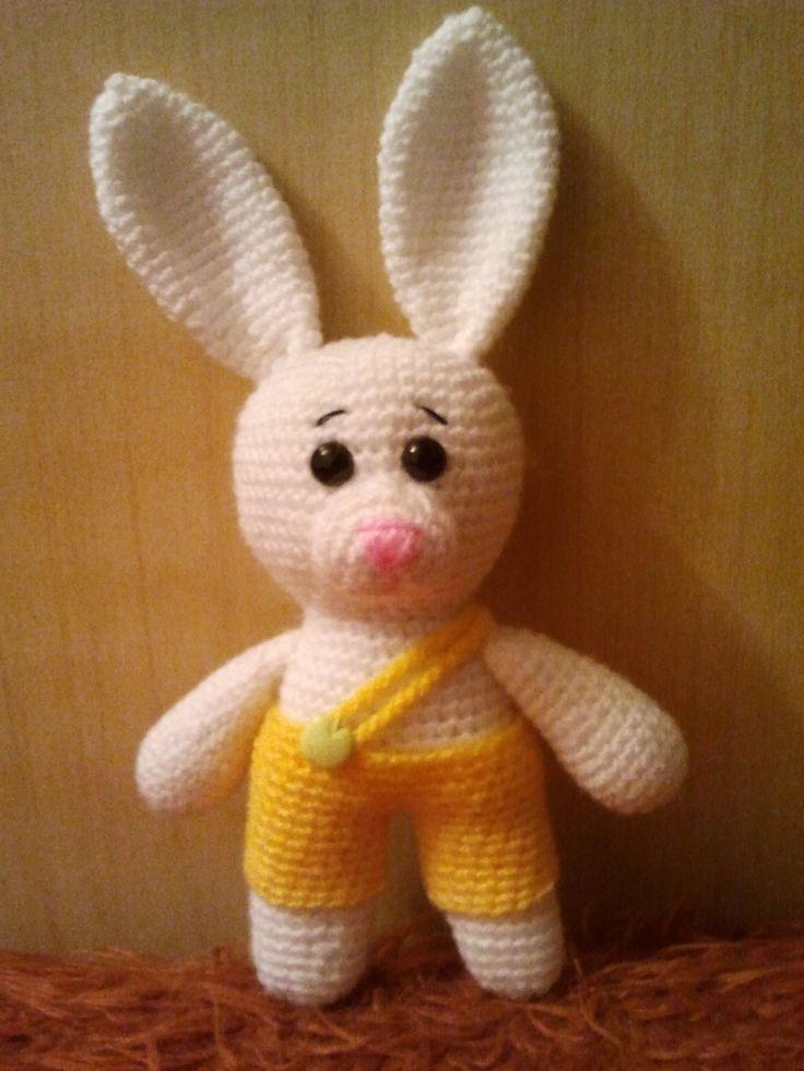 Crochet Bunny Toy,Amigurumi Bunny,Stuffed toys. Amgurumi animals. Crochet toy. Baby toy. by DianaCrochetToys on Etsy