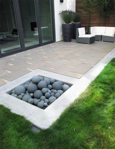 Firepit and great pavers