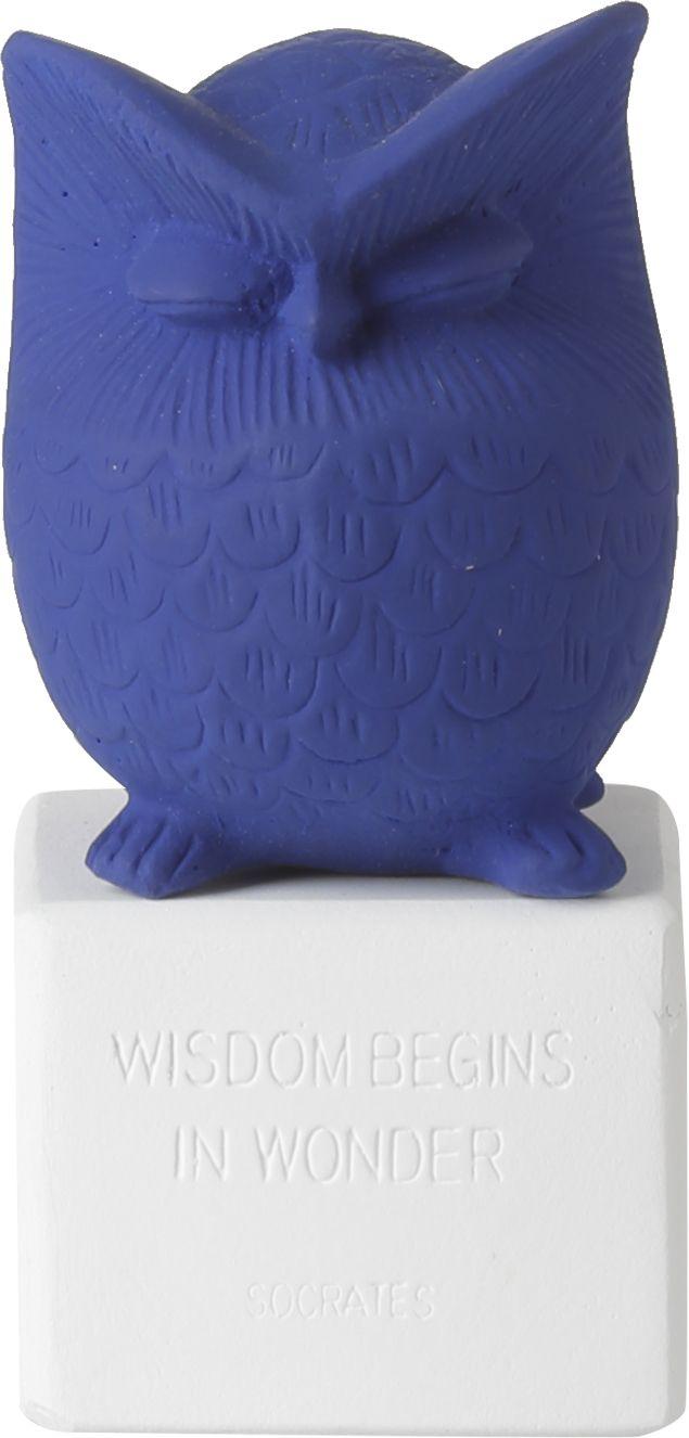 Owl Small Klein blue