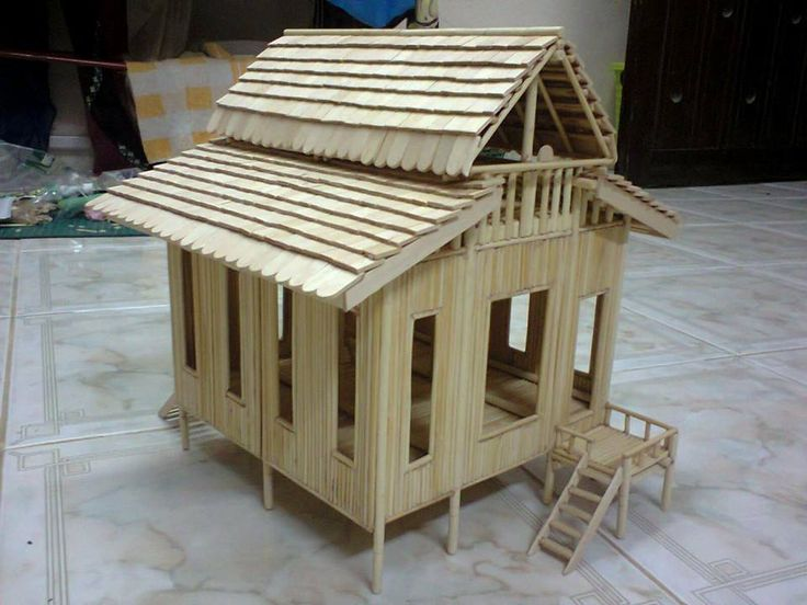 Pin by lilia s on bungalow pinterest best miniatures ideas for How to build a treehouse with sticks