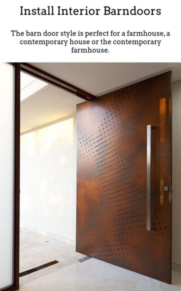 White Interior Barn Door Prehung Interior Doors Barn Doors For