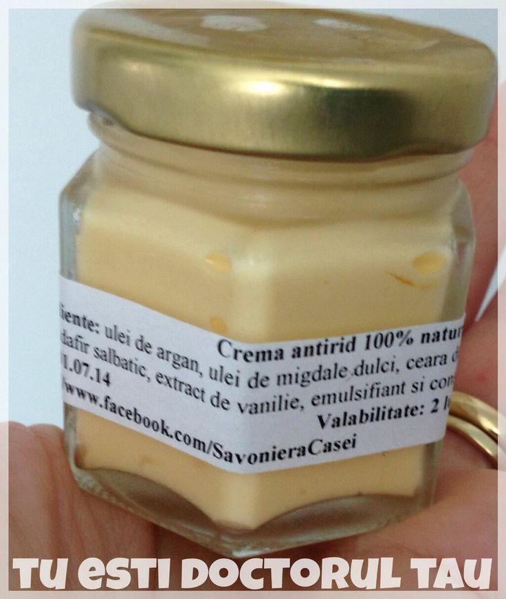 Azi am primit o crema naturala 100% de la Savoniera Casei!