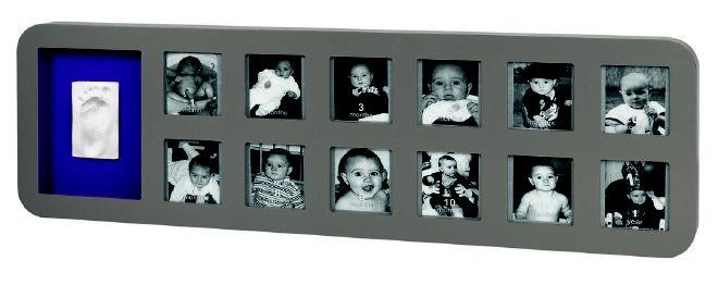 Baby Art 1st Year Print Frame Taupe/Lime Ottima idea regalo per il primo compleanno! (spedizione gratuita)