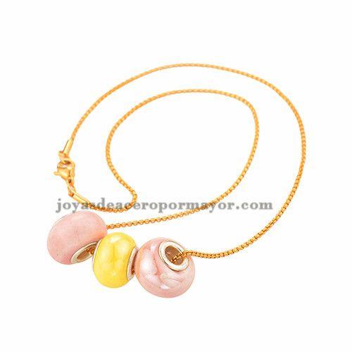 collar antipulgas para mujeres de color dorado