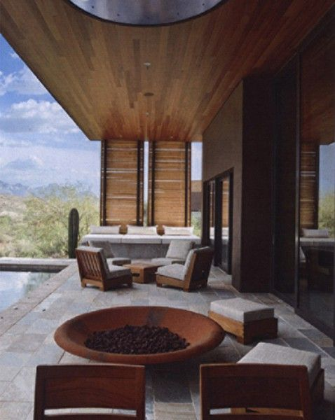 Miraval villas clodagh believes that the interaction with the natural elements of earth water