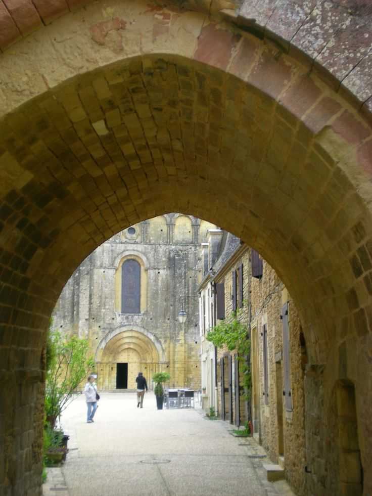 In this tiny village in the middle of the oak forests, sits the enormous Abbaye de Cadouin, for many centuries a stop on the Pilgrim's Trail, and now a UNESCO World Heritage site.