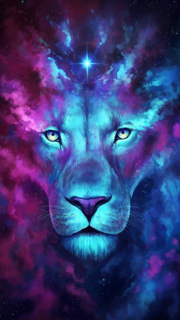 Art Lion Voyage Onirique Fond D Ecran Graphique L Art De Lion Fond Ecran Animaux