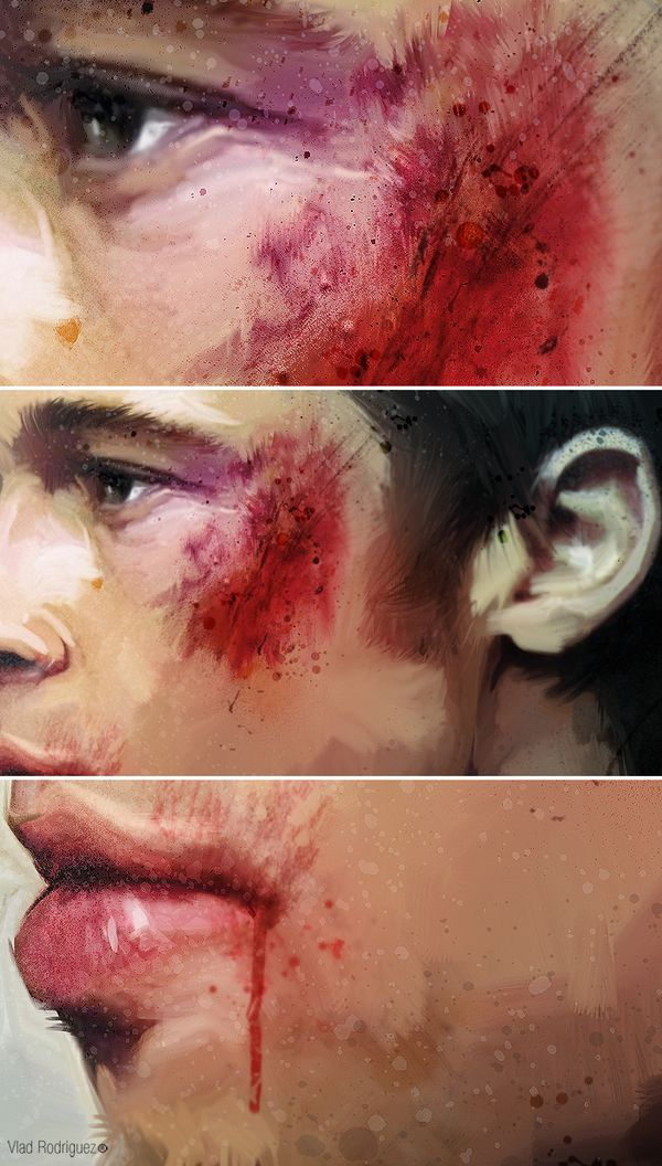 In the Fight Club! with Brad Pitt & Edward Norton! by Vlad Rodriguez, via Behanc…