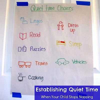 Establishing quiet time when your child stops napping... including 6 tips and some quiet time activity ideas.Toddlers Approved, Children Toys, Time Ideas, Naps Time, Quiet Time Boxes, Kids, Quiet Time Activities, Established Quiet, Activities Ideas