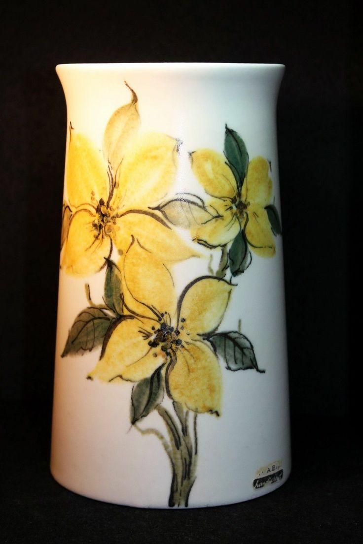Vintage Hand Crafted Painted Arabia Finland Vase 2 | eBay