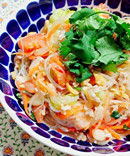 タイの春雨サラダ「ヤムウンセン」です。 - 16件のもぐもぐ - タイ料理のヤムウンセン by ぽん