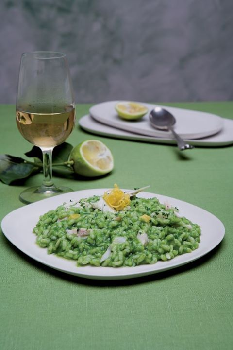 #Risotto con la tinca, typical first course on #LakeGarda | #fish #rice #food #cooking
