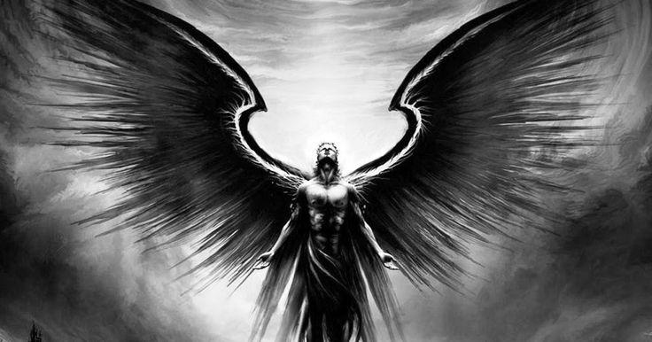 Uma imagem está pintada na minha mente. Um personagem está de joelhos perante uma divindade. Essa personagem parece ser um anjo vestido...