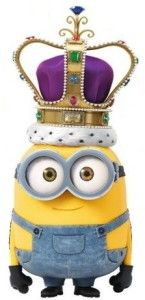 Ready to dress like King Bob from the Minion Movie? See our DIY King Bob Minion Costume Page for more ideas to make your own regal minion costume.