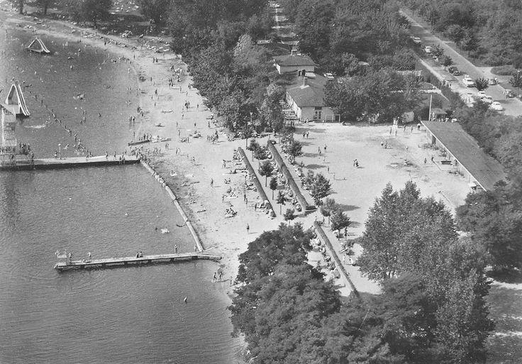 Berlin-Luebars 1963,am Freibad.