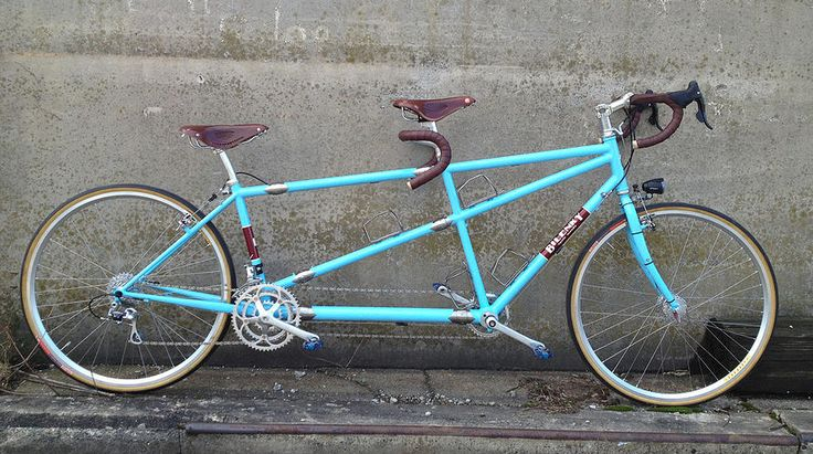 Is there any pleasure greater than riding with your beau? Yes. Riding on a tandem.