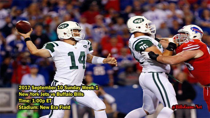 Buffalo Bills vs New York Jets  Schedule
