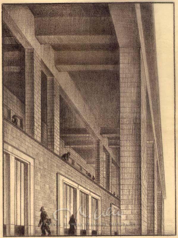 Archivio Disegni Giovanni Michelucci