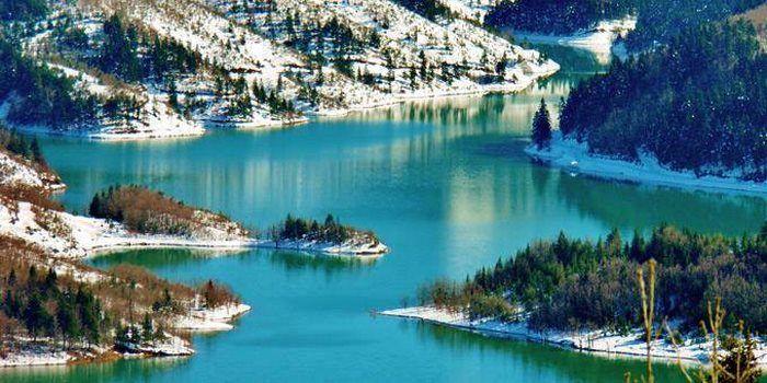 Λίμνη Πλαστήρα  PLASTIRA LAKE , THESSALY, GREECE