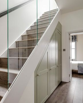 Driftwood contemporary-staircase