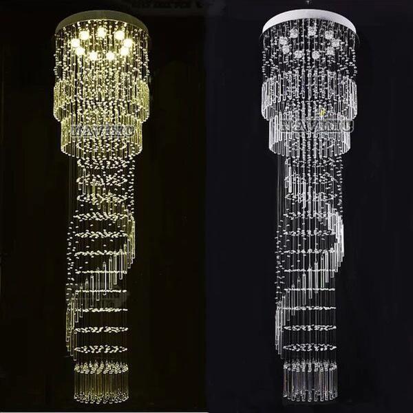 Long Crystal Chandelier Lighting Crystal Chandelier Lighting