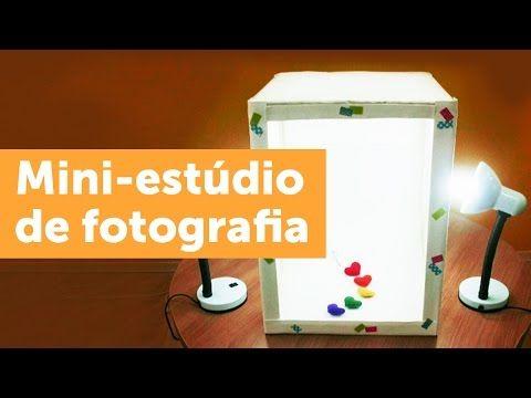 Mini estúdio de fotografia: faça você mesmo - Blog do Elo7