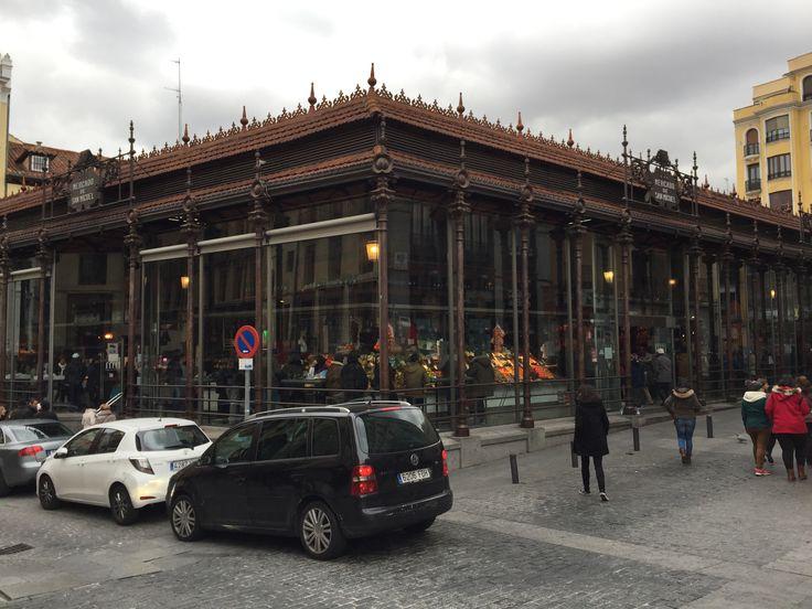 Madrid - centro - Mercado de San Miguel