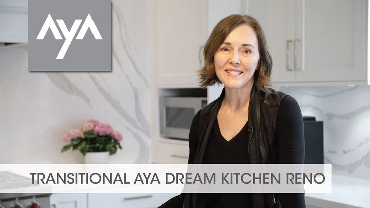 TRANSITIONAL AyA DREAM KITCHEN RENO Follow AyA customer Lisa Hamilton as she goes through the process of designing and renovating her dream kitchen. After careful research, Lisa decides to partner with AyA designer Amy Dillon and the results are stunning.  www.ayakitchens.com