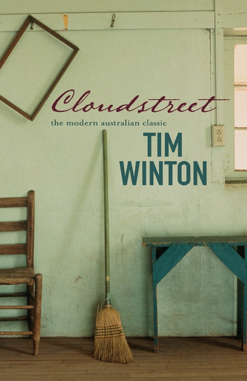 "My all time favourite book, read many times - ""Cloudstreet"" by old soul Tim Winton of Australia."