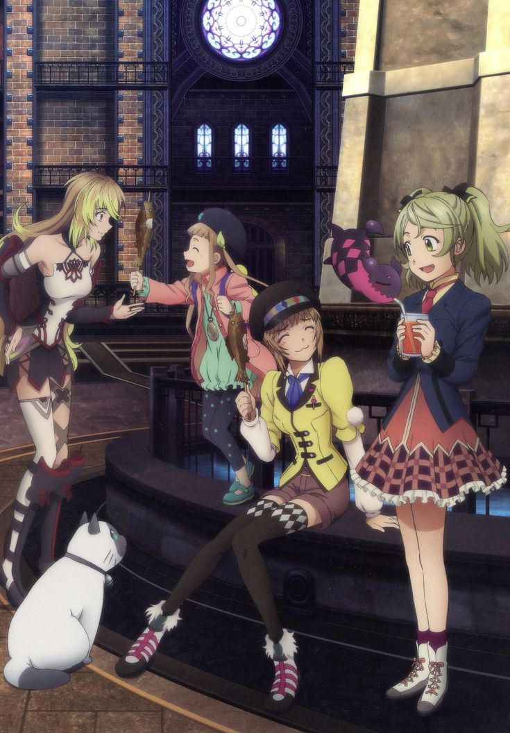 Tags: Scan, Namco, Official Art, Milla Maxwell, Tales of Xillia, Leia Roland, Elise Lutas, Tipo