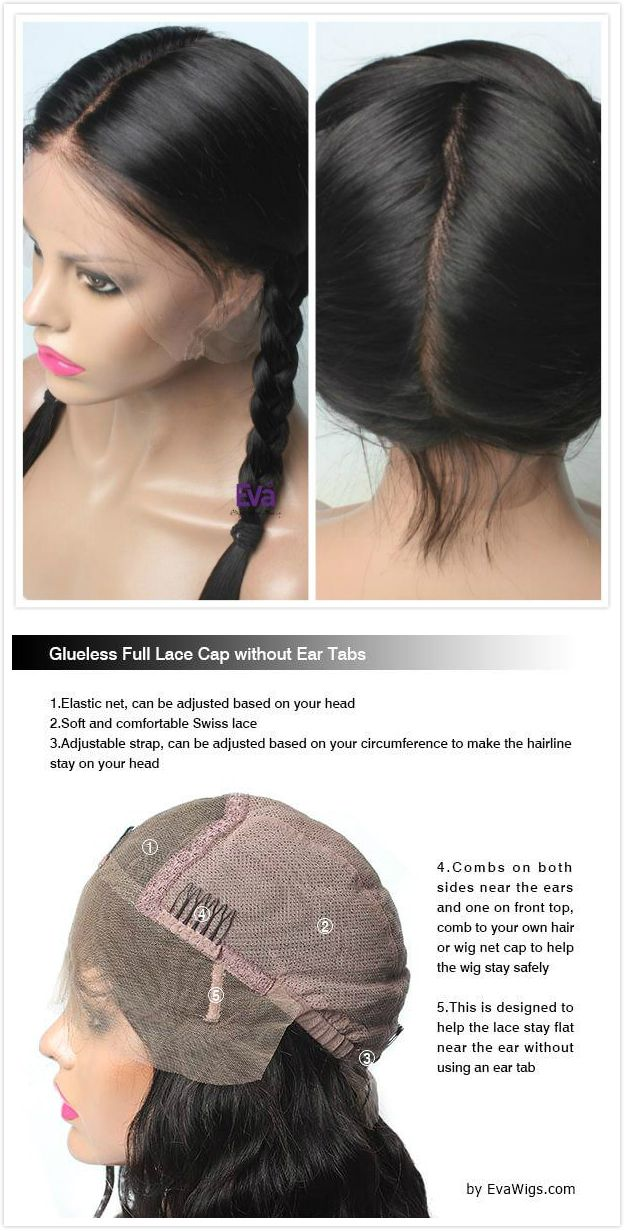 What Is A Full Lace Wig How To Put On A Full Lace Wig More