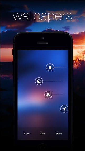 Blurify - Create custom blurred iOS 7 style background wallpapers bernhard Obereder 제작 바탕화면 블러 효과 만들기
