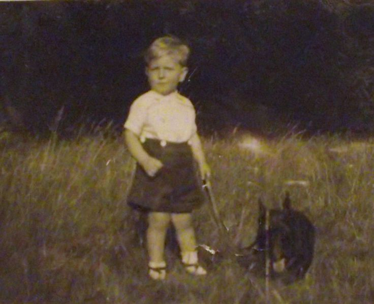 Me and Scottie 1947 (Philip Weaver)