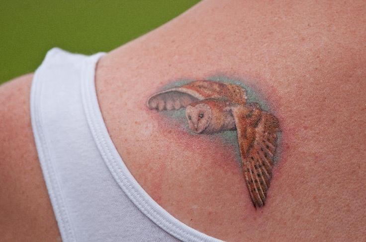 It's the owl from the labyrinth!!! | Tattoo Ideas ... Labyrinth Owl Tattoo