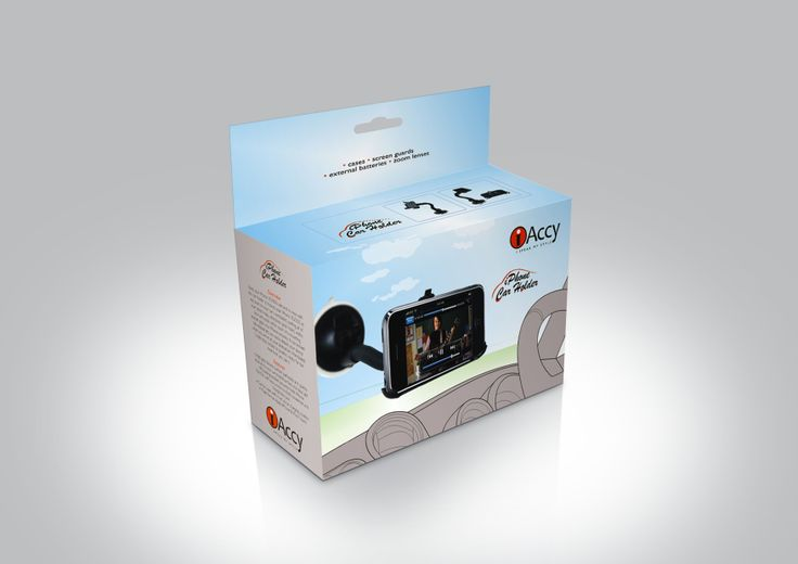 Mobile Accessory packaging for iAccy