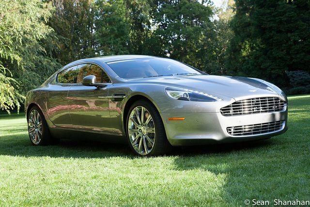 British car manufacturer Aston Martin celebrates 100 years ...